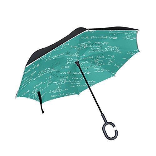 JSTEL Ecuación y cálculos de matemáticas invertidas de doble capa, paraguas...