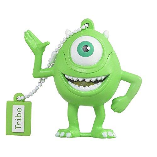 Tribe Disney Pixar Monster & Co. Mike Wazowsky - Memoria USB 2.0 de 16 GB...