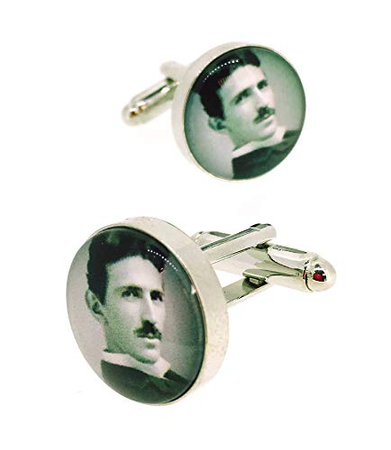 Gemelolandia | Gemelos para Camisa Magglass Nikola Tesla Gemelos Originales Para...