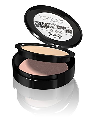 lavera Maquillaje fluido compacto 2in1 -Ivory 01- vegano - cosméticos naturales...