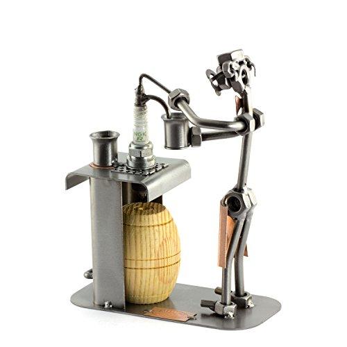 Steelman24 I Camarero con Barril De Madera I Made in Germany I Idea para Regalo...