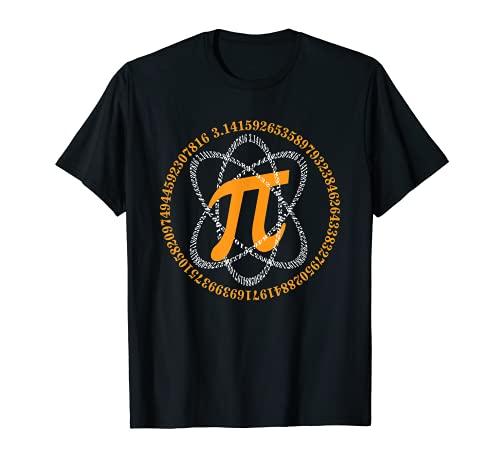 PI Day Shirt Atom PI Math Geek Science Lovers Camiseta