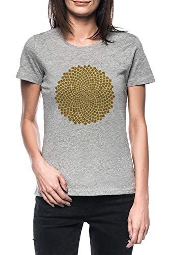Girasol Semilla Fibonacci Espiral Dorado Proporción Mates Matemáticas...