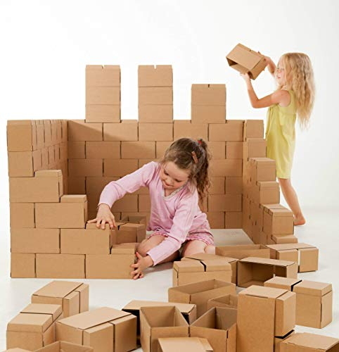 GIGI Bloks - Bloques de Construcción Gigantes de Cartón, Juegos de...