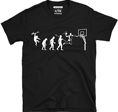 6TN evolución de Baloncesto Camiseta - Negro, Large