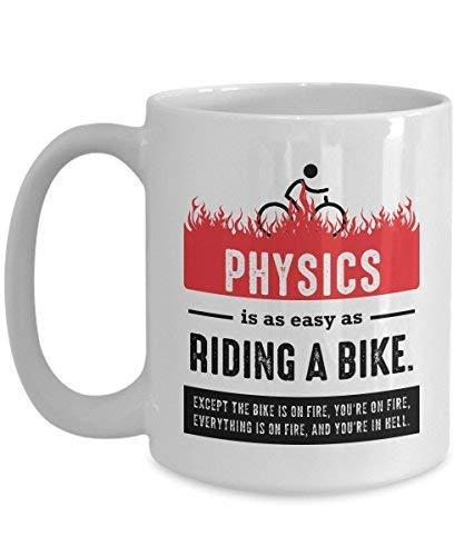 Taza de profesor de física, regalos de física nuclear, taza de física de...