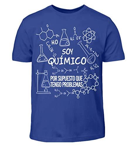 Shirtee Soy Químico - Problemas - Camiseta para niños