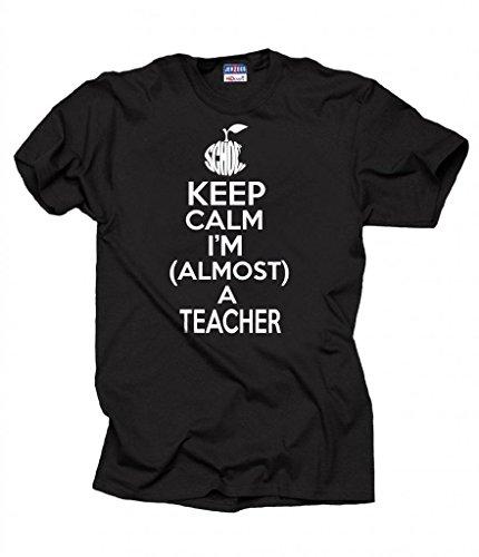 Milky Way Tshirts Hombres Mantener la Calma Estoy Casi Una Escuela del Profesor...