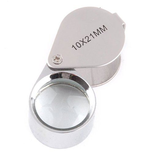 Tinxi - Lupa de relojero/joyero (aumento 10x, 21 mm)