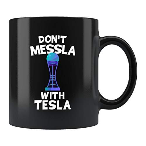 Nikola Tesla - Taza de café Tesla, taza de café Tesla, taza de café de la...