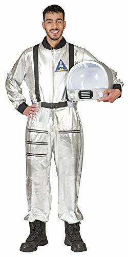 Disfraz de Astronauta Tobias - Plateado - Gran Disfraz de Conductor Espacial...