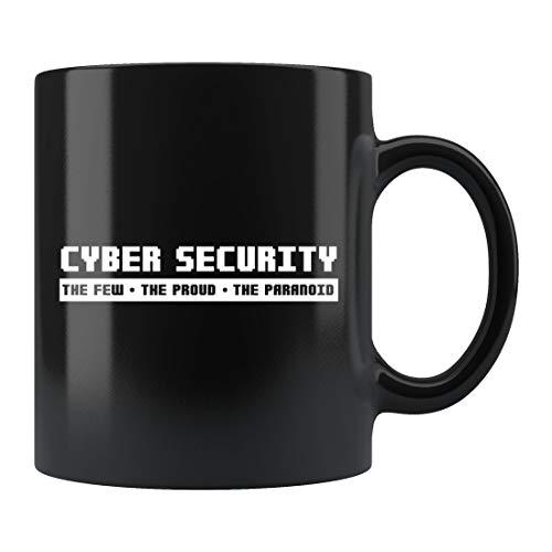 Taza de seguridad cibernética, regalo de hacker, taza de piratería...