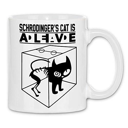 wowshirt Taza Schrodinger's Cat Ingeniero gato de Schroedinger Sheldon Físico...