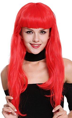 WIG ME UP- 90649-EZA13 Peluca Mujer Carnaval Halloween Rojo Años 50 Burlesque...