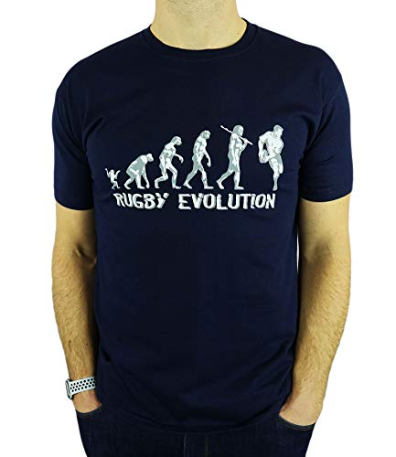 My Generation Gifts Rugby Evolution - Rugby Divertido del Regalo de...