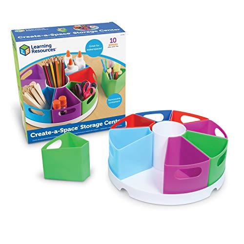 Learning Resources- Organizador Create-a-Space, Color (LER3806)