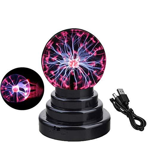 Bola de plasma, lámpara de globo sensible al tacto, creativa decoración...