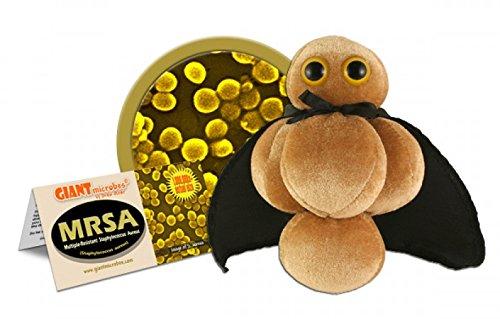 Giantmicrobes - Peluche Microbio gigante - Versión llavero Key Ring SARM
