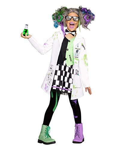 Horror-Shop Disfraz de niña Loca científica L