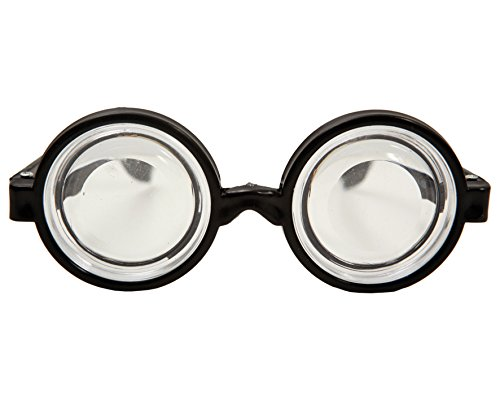 Desconocido My Other Me - Gafas culo de botella, talla única (Viving Costumes...