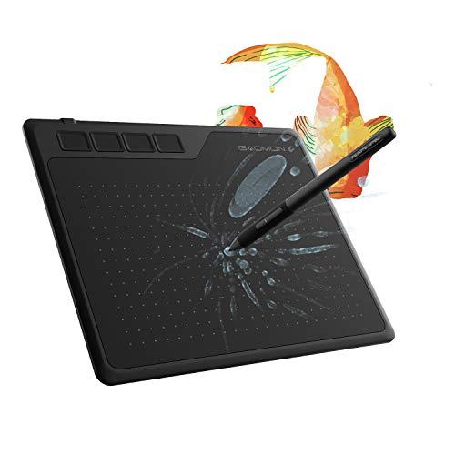 GAOMON S620 6,5 x 4 Pulgadas OSU Tableta Gráfica 8192 Niveles Presión para...