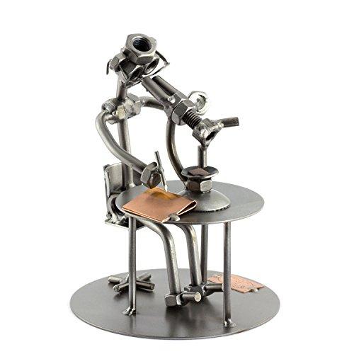 Steelman24 I Biólogo con Microscopio I Made in Germany I Idea para Regalo I...