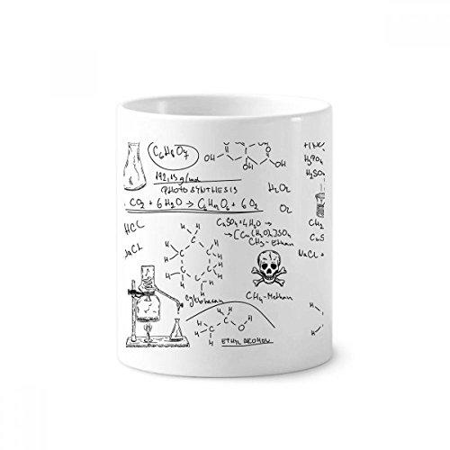 Calculus - Soporte para bolígrafo de cerámica con diseño de experimento de...