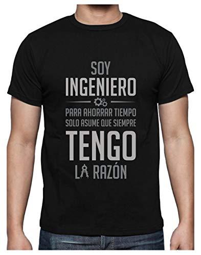 Green Turtle T-Shirts Camiseta para Hombre - Regalos para Ingenieros - Soy...