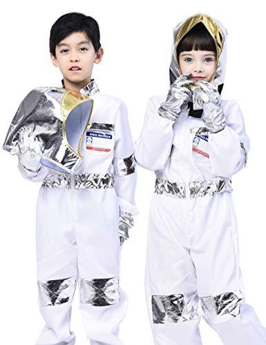 IKALI Disfraz de Astronauta Infantil,Clásico Abrigos espaciales El Juego de...