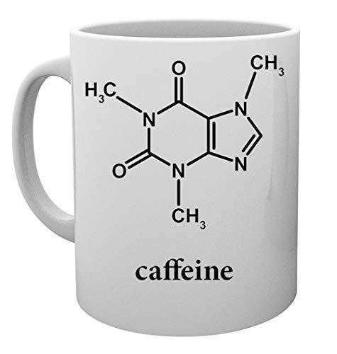 Caffeine Molecural Structure Taza Mug Cup