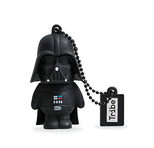 Llave USB 8 GB Darth Vader - Memoria Flash Drive 2.0 Original Star Wars, Tribe...