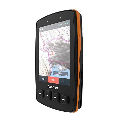 "TwoNav - GPS Trail 2 - Senderismo Trekking / 4 Botones Frontales/Pantalla 3.7"" /..."