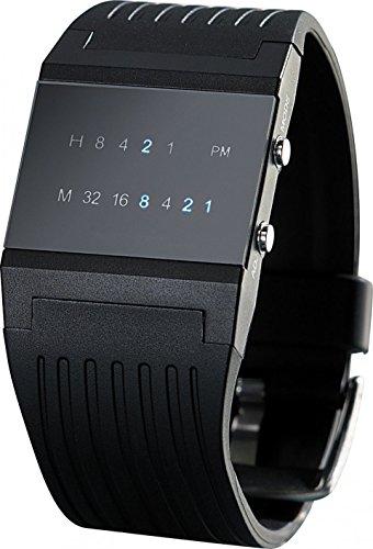 St. Leonhard Reloj Binario: Reloj de Pulsera Binario Future Line con Pantalla...