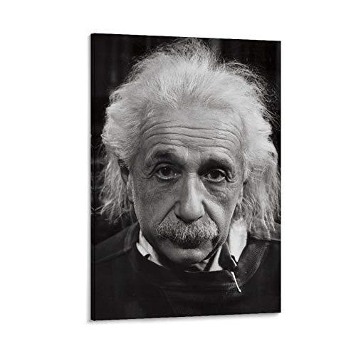LCYB Biografia Corta De Albert Einstein Póster decorativo lienzo pared sala de...
