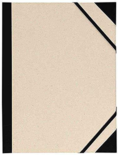 Carpeta Dibujo Canson Brut 52x72 Cm Con Gomas Color Gris