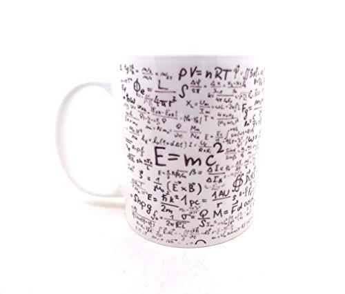 E = MC2Física Matemáticas ciencia estudiante taza de regalo