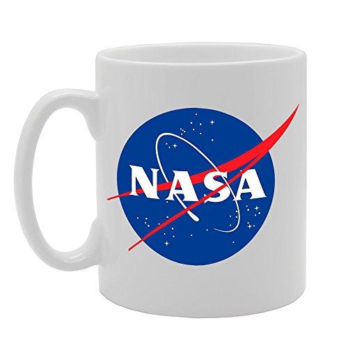 MG673 Taza de cerámica con el logotipo de la NASA