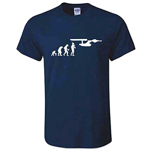Hombres Navy Star Trek Evolution - Camiseta - USS Enterprise