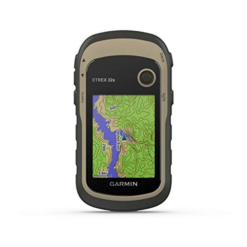 """Garmin ETREX 32x GPS de Mano con Pantalla Color de 2.2"""" y Mapa TopoActive..."""