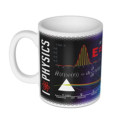 getDigital 13082 Ciencia Taza Physics Taza/taza para Nerds, Geeks, estudiantes y...