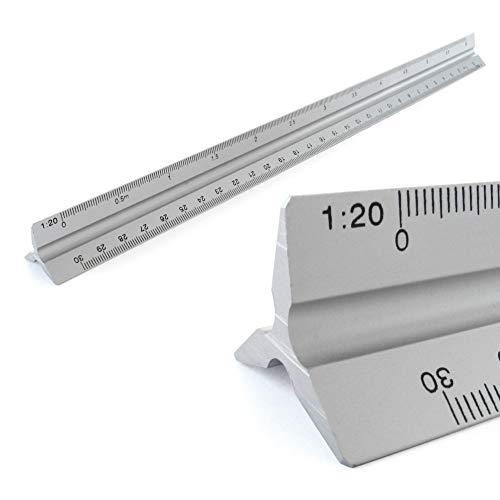 Escalímetro de Aluminio de 30 cm