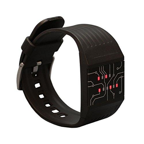 getDigital 7235 - Reloj Digital que Marca la Hora en Modo Binario para Profis,...