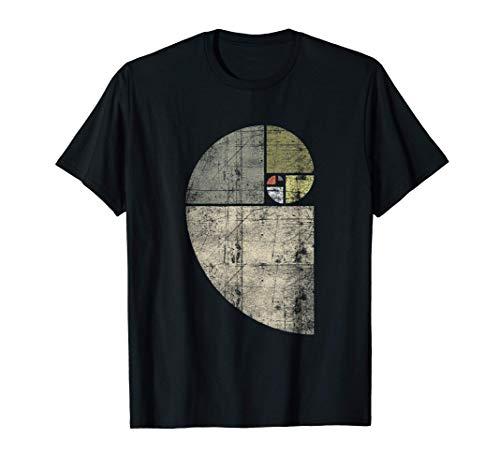 Fibonacci Spiral Sequence / Golden Ratio / Cool Math Camiseta