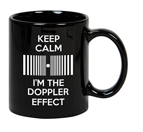 Taza mug desayuno de cerámica negra 32 cl. Modelo Doppler
