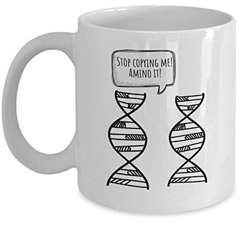 Taza de genetista - Idea divertida de regalo de Genética - Regalo de biología...