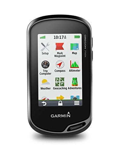 Garmin Oregon 750T - GPS de mano con Wi-Fi, cámara de 8 MP y mapas TopoActive,...