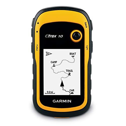 Garmin Etrex 10 GPS portátil con Pantalla transflectiva Monocromo de 2.2...