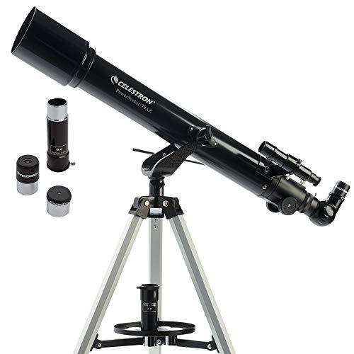 Celestron PowerSeeker AZ - Telescopio astronómico (70 mm de Apertura, 700 mm de...