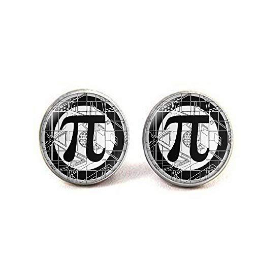 Pendientes Pi, pendientes de matemáticas, números de pendientes Pi, símbolo...