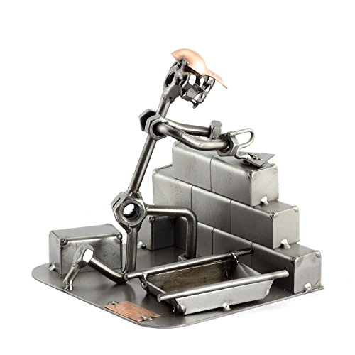Steelman24 I Albañil I Made in Germany I Idea para Regalo I Figura de metalo